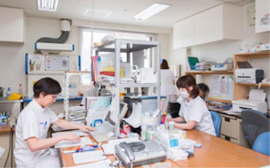 検査室の写真