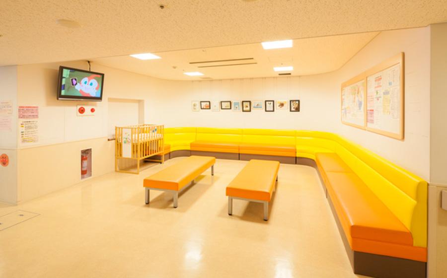 小児科待合室の写真