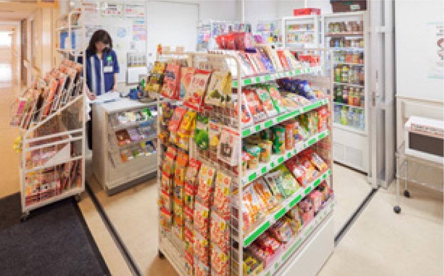 売店の写真